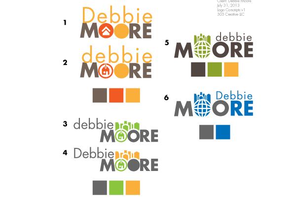 Debbie Moore Branding