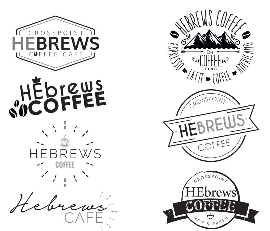 HEBREWS COFFEE Logos v1